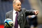 Andy Robinson the Scotland head coach. Photo / AP