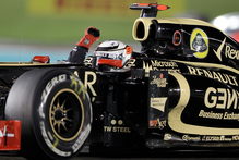 Kimi Raikkonen's F1 win is the first for Lotus since 1987. 