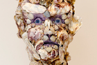 Sad-eyed Oyster Man by Andrea de Chatenier at Seed Gallery. Photo / Steven McNicholl