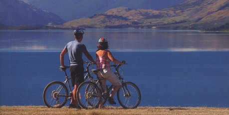 Book cover of Classic New Zealand Cycle Trails. Photo / Supplied