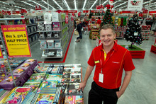Mark Powell says The Warehouse is keen to stock more well-known brand bames like Samsung. Photo / Brett Phibbs