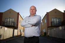 Apartment owner Scott Whineray is concerned about work outside the scope of the report. Photo / Greg Bowker