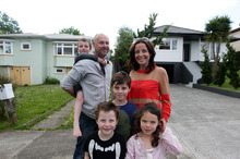 Phil Ivey and Michelle Dowd - pictured with Ryder, Ethan, Emerson Ivey and Kate Anderson - have bought