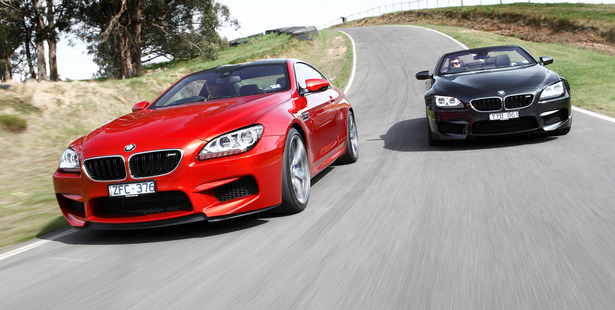 Available in coupe and convertible models, BMW's M6 is race-bred but also a winner on the highway. Photo / Supplied