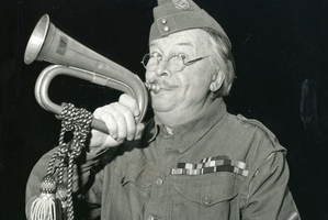 Actor Clive Dunn was also a successful stage singer.Photo / Supplied