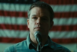 Promised Land, starring Matt Damon, is said to have been financed by an entity controlled by the government of the UAE. Photo / Supplied