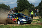 Hayden Paddon says being out of contention to win the series takes the pressure off and he'll be out purely to show what he's made of. Photo / Honza Fronek