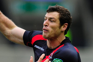 Edinburgh wing Tim Visser has always wanted to emulate Jonah Lomu. Picture / Getty Images