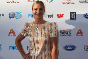Hayley Holt says she is quite competitive and plans to take on Marc Ellis at his own game. Photo / Getty Images