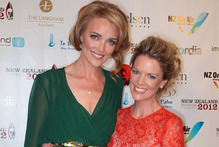 Glamour girls Breakfast co-host Petra Bagust (left) and Good Morning's Jeanette Thomas. Photo / Getty Images