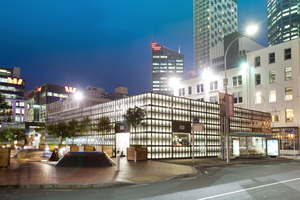 "The ""black boxes"" at Britomart in Auckland City will feature some of New Zealand's major fashion brands. Photo / Supplied"