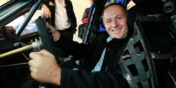 Loading John Key is emphatic that he wants to be returned to the driver's seat in the 2014 election. Picture / Getty Images