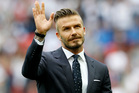 David Beckham. Photo / AP