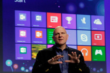 Microsoft CEO Steve Ballmer. Photo / AP