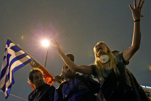 Planned austerity measures have brought protests in Greece. Photo / AP