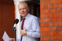 Julian Assange described re-elected President Barack Obama as a 'wolf in sheep's clothing'. Photo / AP