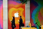Has Apple reached its peak? Photo / AP