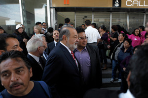The $103.5 billion fortune of telecoms tycoon Carlos Slim is equal to that of 400,000 of his fellow Mexicans. Photo / AP
