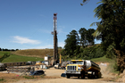 A drilling rig used to explore for oil and gas in Taranaki. Todd Energy says its hydraulic fracturing techniques - 'fracking' - are save to use in New Zealand. Photo  / NZ Herald