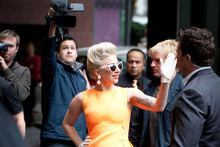 Lady Gaga. Photo / Richard Robinson