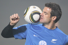 Ryan Nelsen has the type of positive personality qualities that managers and teams can rely on. Picture / Brett Phibbs