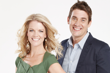 Good Morning hosts Jeanette Thomas and Rod Cheeseman. Photo / Supplied