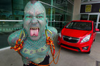 Erik 'Lizardman' Sprague. Photo / Brett Phibbs