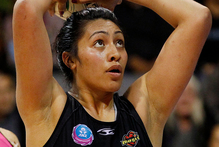 Shooter Julianna Naoupu has been lured back to her home town of Christchurch to play for the Tactix. Photo / Christine Cornege