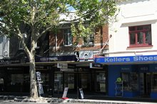 An exterior view of the block of three shops at 405 Remuera Rd. Photo / Supplied