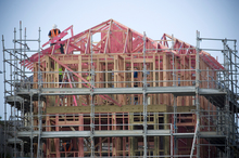 The unadjusted rise for builders in Canterbury was 6.8 per cent. Photo / Paul Estcourt