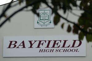 Bayfield High School in Dunedin. Photo / Dean Purcell