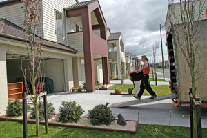 The Addison development, Takanini, 2007, touted as a benchmark for medium-density housing. Photo / Supplied