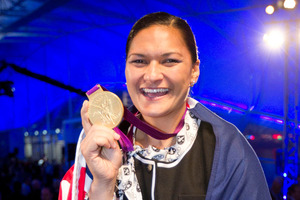 Olympic gold medallist shot putter, Valerie Adams, says on her downtime she likes to relax at her Auckland home. Photo / Greg Bowker
