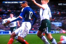 Thierry Henry's World Cup qualifying goal for France against Ireland in 2009 would have been rubbed out after his blatant handball. Photo / Supplied