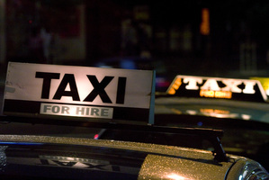Auckland Transport says it will apply to run a trial of cabs in selected bus lanes. Photo / APN