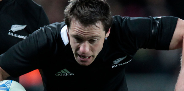 Loading Ben Smith wants to develop the same sort of smarts as Conrad Smith. Photo / NZ Herald