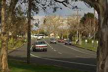 A car was also spotted on Riverbend Road on Tuesday. File Photo / NZ Herald