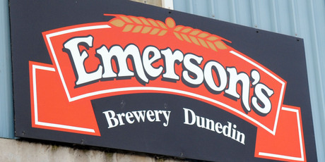 The 20-year-old Emerson's brewery will operate as a standalone unit within Lion and retain its existing Dunedin brewery. Photo / Ross Setford