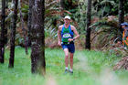 Tauranga runner Russell Lake on his way to winning the inaugural Tauranga Trail Run over 28km. Photo / Picasa