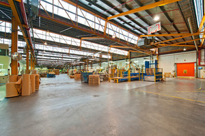 Interior view of industrial property at 33 Hugo Johnston Drive.