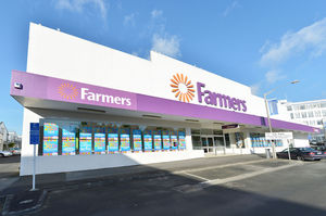 The store is Whangarei's largest CBD retail property.