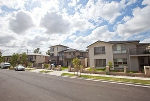 In Bonnyrigg, the aim is no one should be able to tell the difference between a state-owned rental property and one that is owner-occupied. There will be planned parks and public spaces. Photo / Supplied