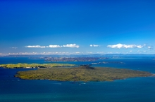 Nature lovers will soon be taking guided walks on Rangitoto and its adjoining neighbour Motutapu, home to recently released brown kiwis.