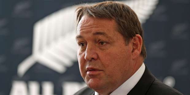 All Blacks coach Steve Hansen. Photo / Getty Images