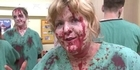 Watch: Hordes of zombies storm London's Docklands