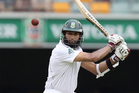South Africa's Hashim Amla plays a shot during the first day of the first cricket test match between Australia and South Africa. Photo / AP