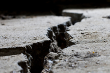 Good news for those afraid of stepping on a crack: embedded dormant calcite-precipitating bacteria. Photo / Thinkstock