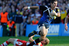 Stephen Donald in action for Bath. Photo / Getty Images