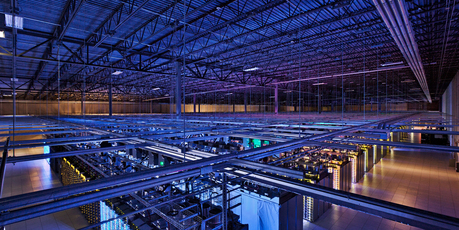 Google's data storage facilities. Getting into the cloud has been more costly than many global business leaders expected. Photo / Supplied