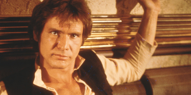 Harrison Ford is reportedly keen to revisit the Star Wars character, Han Solo. Photo / Supplied